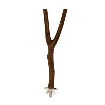 Pet Ting Wooden Y-Perch - Small